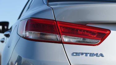 Kia Optima - rear light detail