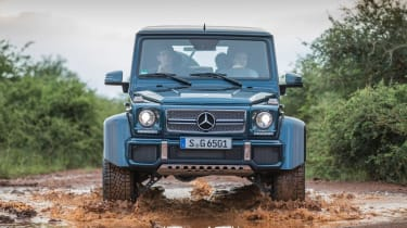 Mercedes-Maybach G 650 Landaulet - full front off-road