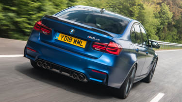 BMW M3 CS - rear