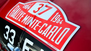 Mini Cooper S 1964 Monte Carlo rally winner - bonnet