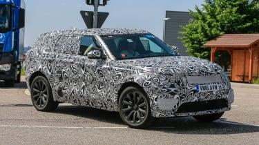 Range Rover Sport Coupe - spy shots front cornering 2
