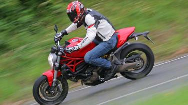 Ducati Monster 821 review - header