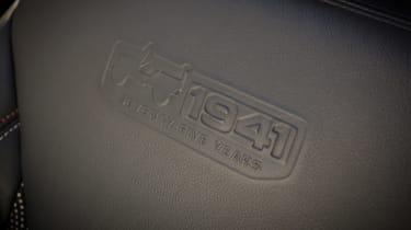 Jeep Wrangler 75th Anniversary - seat detail