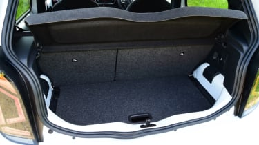 Volkswagen up! GTI boot space