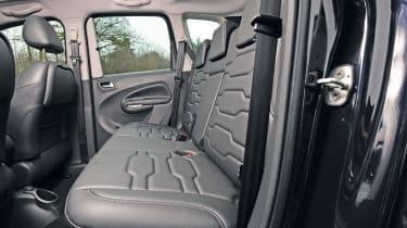 Citroen C3 Picasso rear seats