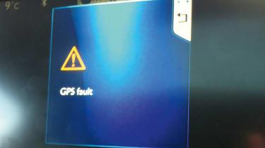 Peugeot 208 GPS fault