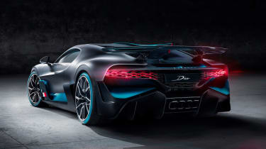 Bugatti Divo - rear static