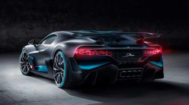 Bugatti Divo - rear static