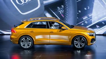 New Audi Q8 reveal - static side