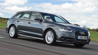 Audi A6 Avant - front tracking