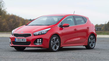 Kia Cee'd - front static