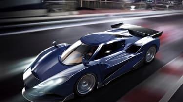 Arash AF10 hybrid - artwork