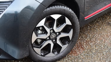 Toyota Aygo - wheel