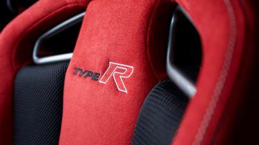 Honda Civic Type R - seat detail