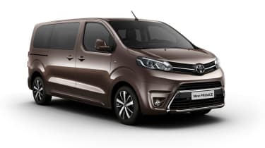 New Toyota Proace front quarter