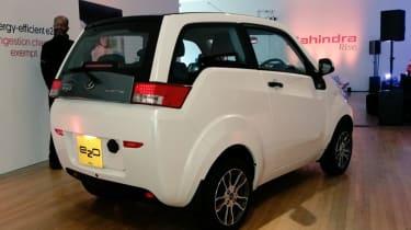 Mahindra e2o - white rear
