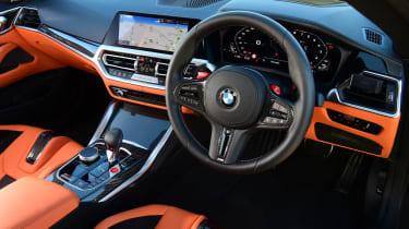 BMW M4 Competition - dash