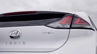 Hyundai Ioniq Plug-in - rear detail