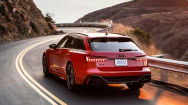 Audi RS 6 Avant - rear action