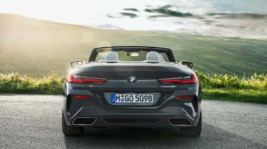 BMW 8 Series Convertible - full rear