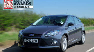 Ford Focus 1.0 Zetec EcoBoost front action