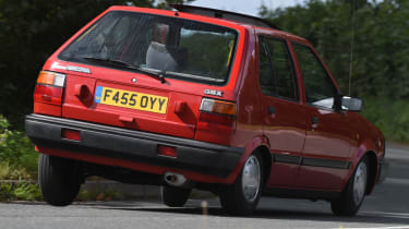 Long term Nissan Micra - second report - mk1 Micra rear