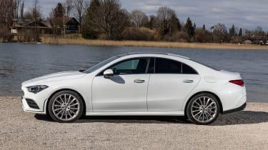 Mercedes CLA - side static