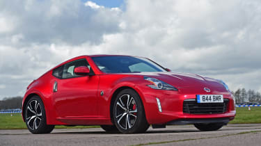 Nissan 370Z - front static