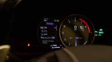 Lexus LC 500h - dials
