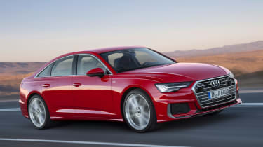 Audi A6 - front red
