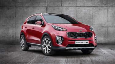2016 Kia Sportage front