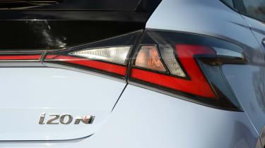 Hyundai i20 N - rear lights