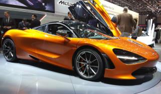 McLaren 720S Geneva show - front