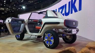 Suzuki e-Survivor rear