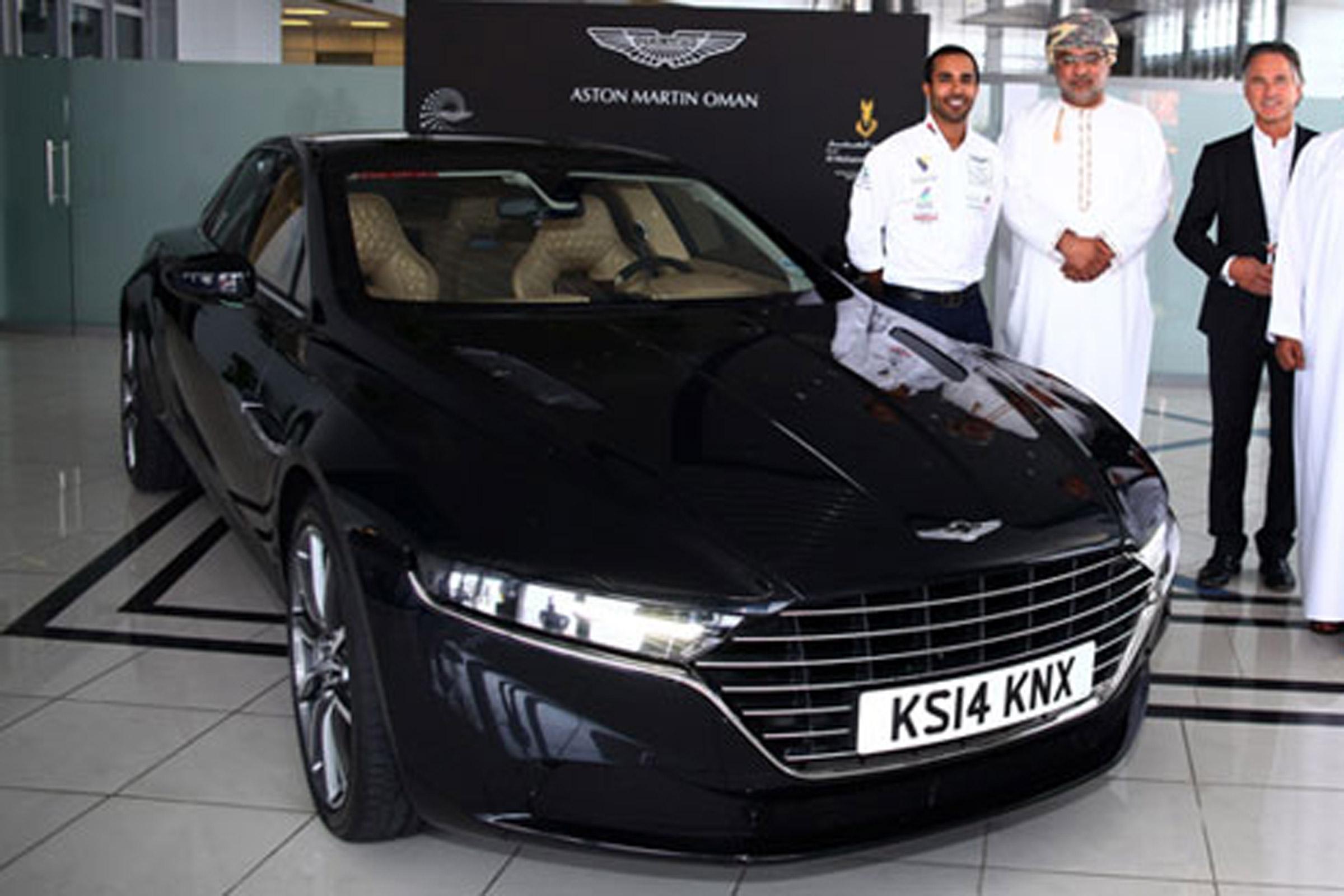 New Aston Martin Lagonda Flies Economy Class To Oman Auto Express