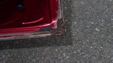 Ford Edge long term - third report door detail