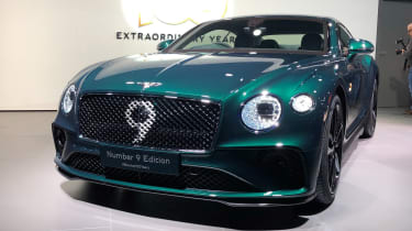 Bentley Continental GT No.9 edition - full front