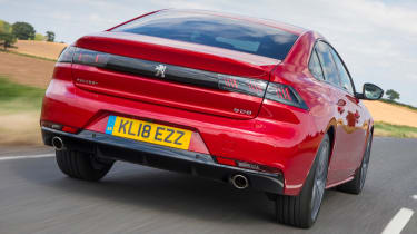 New Peugeot 508 GT 1.6 turbo rear tracking