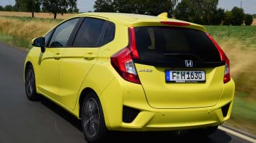 Honda Jazz - rear tracking