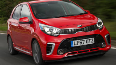 Triple test – Kia Picanto - front quarter