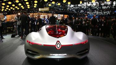 Renault Trezor at Paris 2016 rear