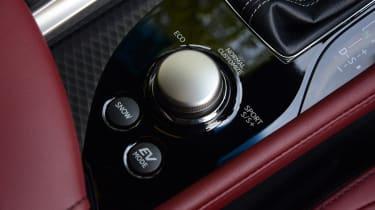 Lexus GS 450h F Sport - drive selector