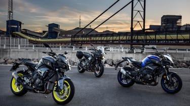 Yamaha MT-10 review - group bridge