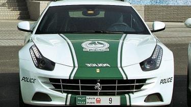 Ferrari FF police car