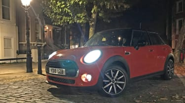 mini cooper 5 door long termer static night