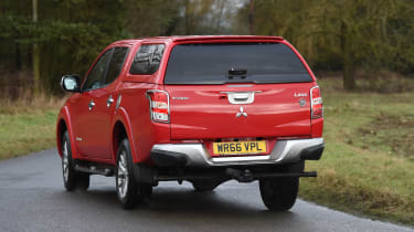 Mitsubishi L200 long-term test - rear