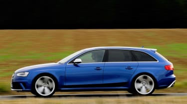 Thanks to the estate body the RS4 is not only hugely fast, it's hugely practical.