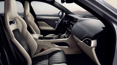 Jaguar F-Pace SVR - cabin