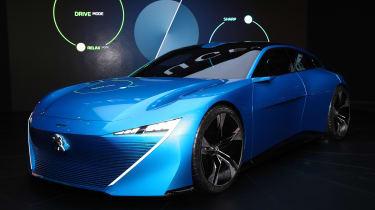 Peugeot Instinct concept Geneva - front/side