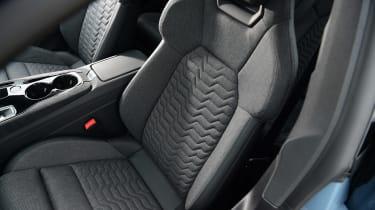 Audi e-tron GT - front seats